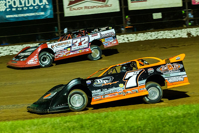 Jared Landers (777) and Bobby Pierce (32)