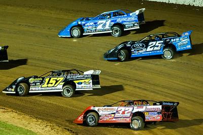 Bobby Pierce (32), Mike Marlar (157), Mason Zeigler (25Z) and Hudson O'Neal (71)