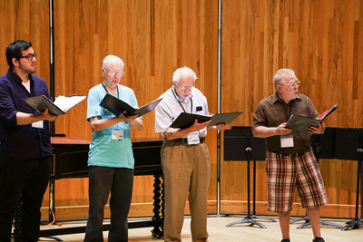2018 Madison Early Music Festival workshop participants perform in ensembles coached by faculty artists throughout the week of the Festival.