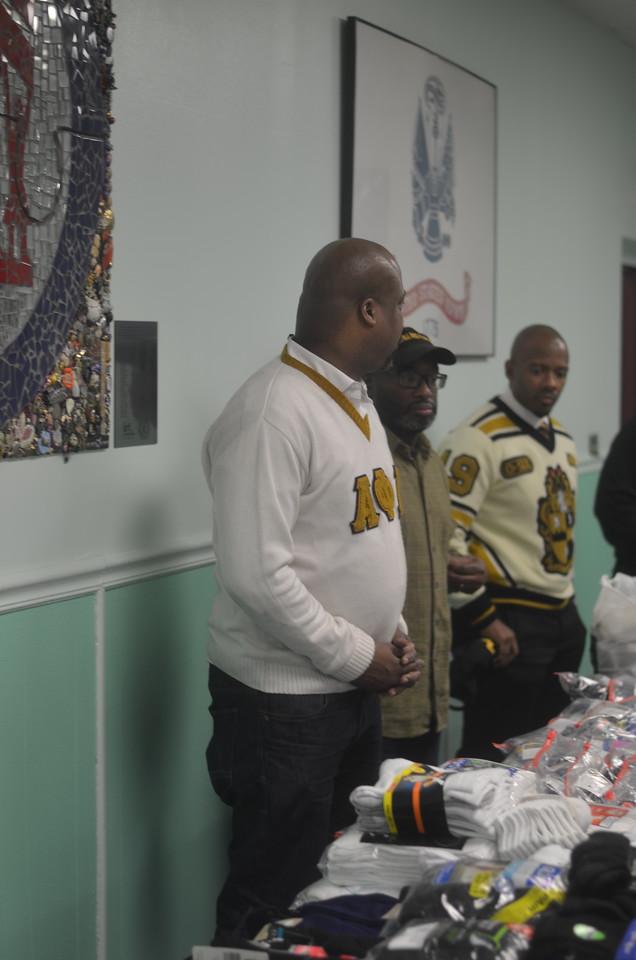 MLK Service Project at MCVET