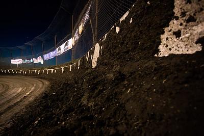 Macon Speedway cushion