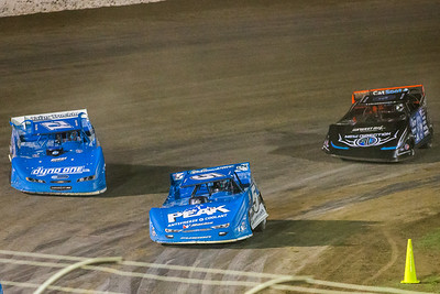 Don O'Neal (5), Hudson O'Neal (71) and Scott Bloomquist (0)