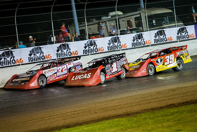 Bobby Pierce (32), Earl Pearson, Jr. (1) and Tim McCreadie (39)