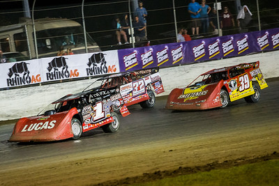 Earl Pearson, Jr. (1), Bobby Pierce (32) and Tim McCreadie (39)