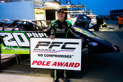 PFC Brakes Pole Award winner Jimmy Owens