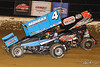 Sprint Car World Championship- Mansfield Motor Speedway - 4 Parker Price-Miller, 5T Travis Philo