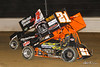 Sprint Car World Championship- Mansfield Motor Speedway - 21B Cap Henry, 7K Cale Conley