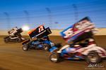 dirt track racing image - Sprint Car World Championship- Mansfield Motor Speedway - 22 Brandon Spithaler