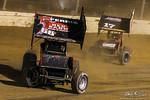 dirt track racing image - Sprint Car World Championship- Mansfield Motor Speedway - 68G Tyler Gunn, 17 Caleb Helms
