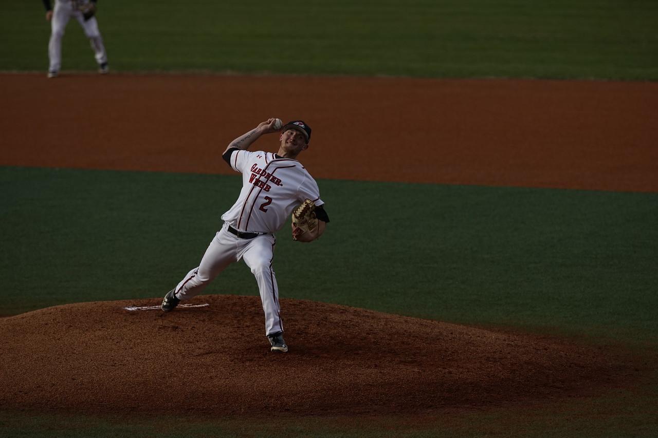 baseball game at gardner webb on march 21 2018