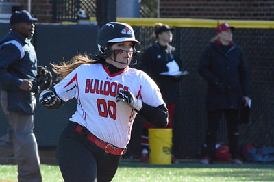 Gardner-Webb Softball team takes on NC State in a double header, winning the first game and falling to the Wolf Pack in the second game in Boiling Springs.