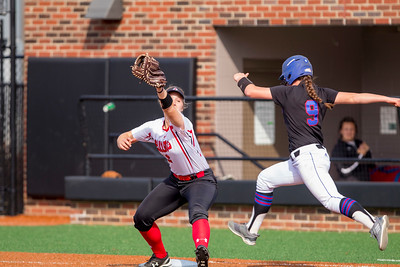 GWU Softball vs. Presbyterian College March 2018