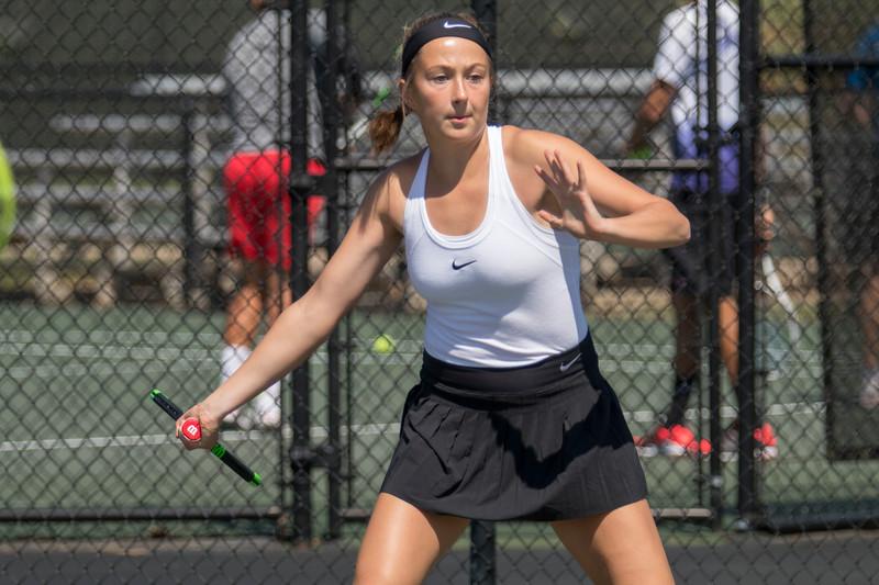 GWU Women's Tennis vs. Radford March 2018