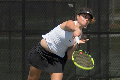 GWU Women's Tennis vs. Radford March 2018