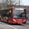 Redline ADL Enviro 200 YX64VRG in Central Milton Keynes on the 21 from Lavendon, 14.03.2018.
