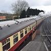 Trains of Mark I and LNER stock at Bridgnorth, 17.03.2018.