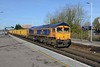 26 March 2018 :: Todays 6M26 from Eastleigh to Mountsorrel is seen at Basingstoke led by 66777