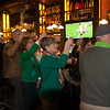 The annual toast to the Irish and all those who served the U.S.A. in uniform
