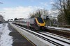 19 March 2018 :: Cross Country 220013 departs from Basingstoke while running 1O84, the 0725 from Newcastle to Southampton