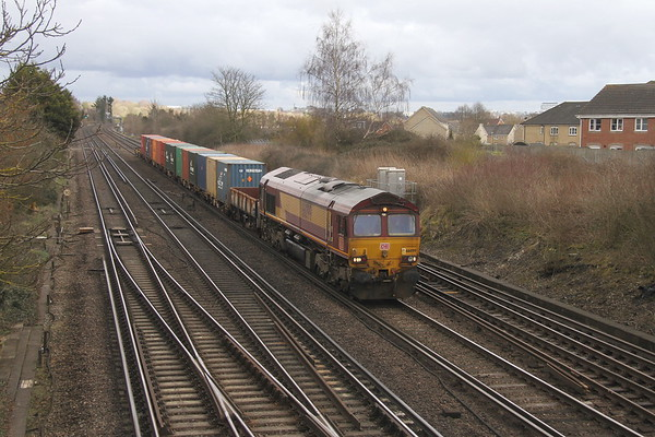 66099 Worting Junction 15/03/18 3F03 Fenny Compton to Marchwood