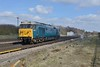 21 March 2018 :: 50008  was photographed at Worting Junction 0Z50 from Wembley to Eastleigh