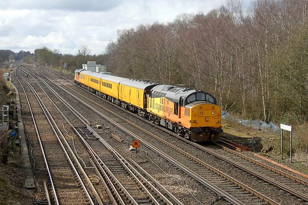 37175 Worting Junction 15/03/18 1Q54 Eastleigh to Tonbridge