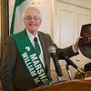 The Northampton Saint Patrick's Committee Breakfast, Friday March 16, 2018. Duke O'Riordan this year's Parade Marshal