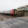 158864 passes March South Jct 1307/1R86 Norwich-Liverpool