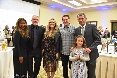 Michael Millman with Family and Friends