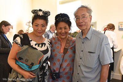 Laura, Maree and Bill Wong