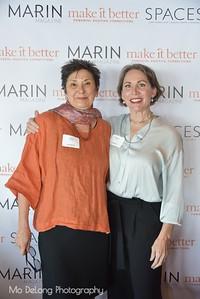 Hazel Jaramillo and Debra Hershon