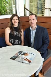 Sandra D'Angelo and Stephen Gordy