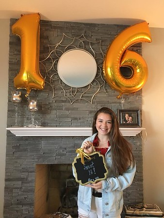 May 16, 2018 - Hailey's 16th Birthday