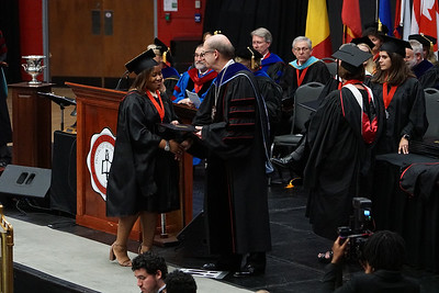 Gardner-Webb University Spring 2018 afternoon Commencement in Paul Porter Arena on May 12, 2018.