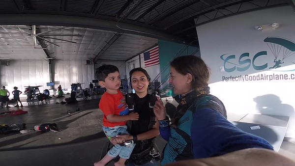 1956 Unnati Gajjar  Skydive at Chicagoland Skydiving Center 20180526 Amy Amy