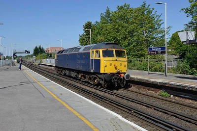 17 May 2018 :: Rail Operations Group 47812 is passing through Basingstoke working 0R59 from Eastleigh to Leicester