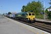 17 May 2018 :: 66516 at Basingstoke leading 4M55 from Southampton to Lawley Street