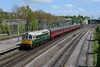 10 May 2018 :: D6515 (33012) is seen at Millbrook leading 1Z33, The Purbeck Explorer from Ealing Broadway to Swanage