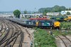 26 May 2018 :: Another look at 37069 + 37259 working 5Z53 from Salisbury to Eastleigh rolling slowly into the works at Eastleigh