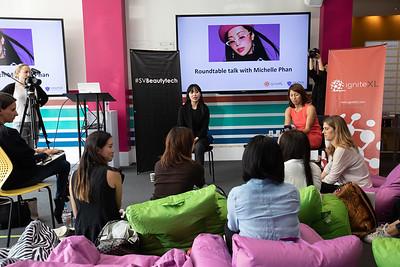 Michelle Phan at Draper University @draper_u Digital pioneer, @michellephan from @ipsy #LifeAtDU