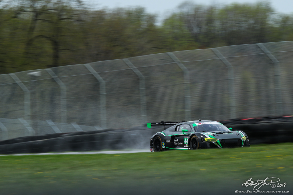 Acura Sports Car Challenge - IMSA WeatherTech SportsCar Championship - Mid-Ohio Sports Car Course - 44 Magnus Racing, Audi R8 LMS GT3, John Potter, Andy Lally