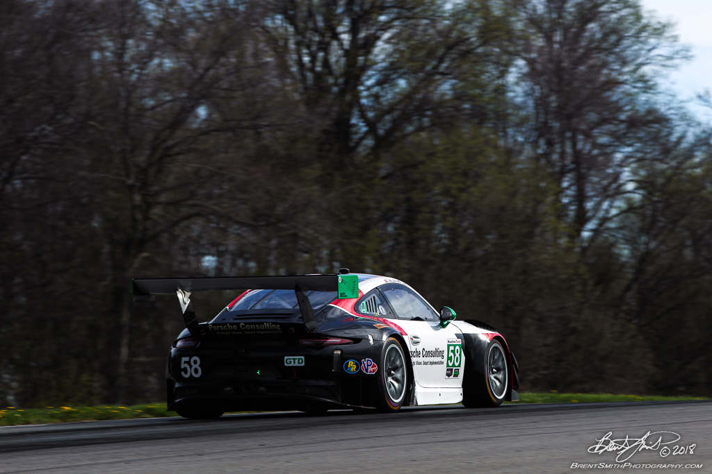 Acura Sports Car Challenge - IMSA WeatherTech SportsCar Championship - Mid-Ohio Sports Car Course - 58 Wright Motorsports, Porsche 911 GT3 R, Patrick Long, Christina Nielson