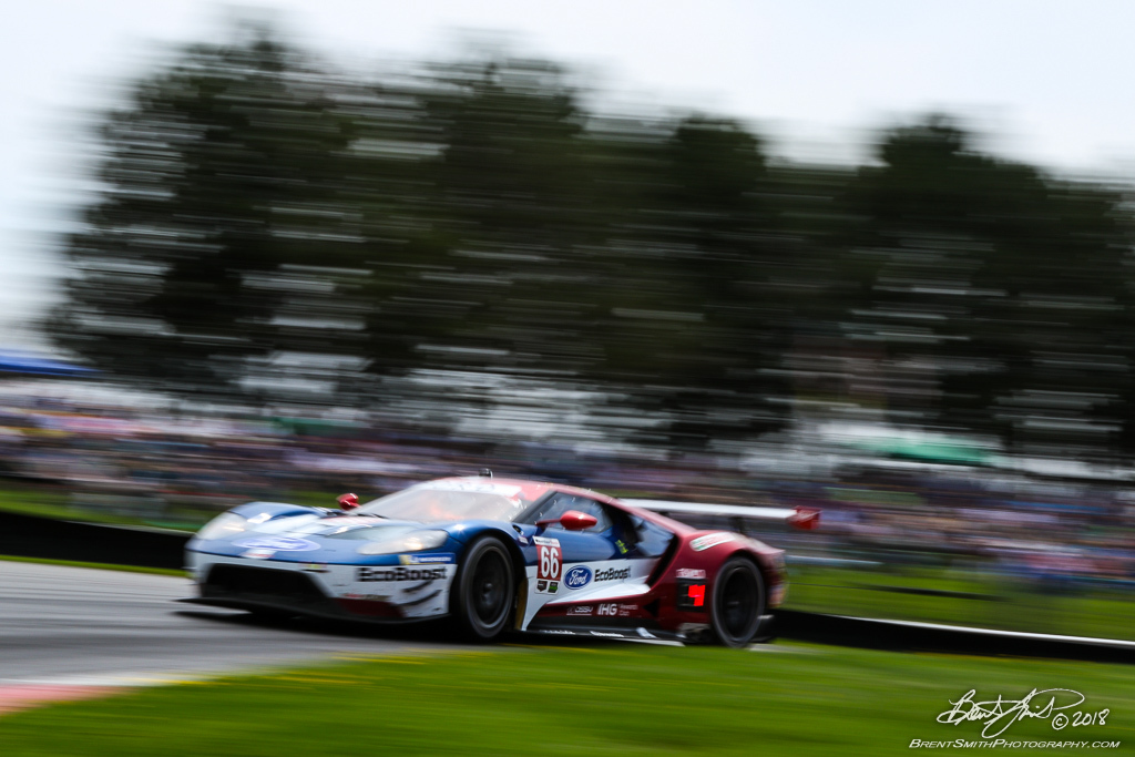 Acura Sports Car Challenge - IMSA WeatherTech SportsCar Championship - Mid-Ohio Sports Car Course - 66 Ford Chip Ganassi Racing, Ford GT, Dirk Mueller, Joey Hand