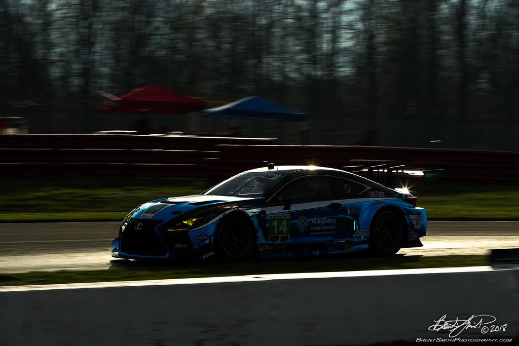 Acura Sports Car Challenge - IMSA WeatherTech SportsCar Championship - Mid-Ohio Sports Car Course - 14 3GT Racing, Lexus RC F GT3, Dominik Baumann, Kyle Marcelli