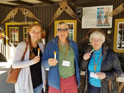 Getting a maple sugar fix, Erabliere du Lac Beauport Sugar Shack - Cathy Phillips