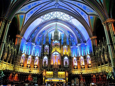 Notre-Dame Basilica, Montreal - Cathy Phillips