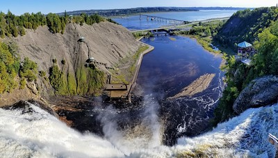 Stunning view over Montmorency Falls - Cathy Phillips