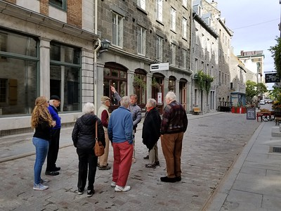 Exploring Old Town Quebec - Cathy Phillips