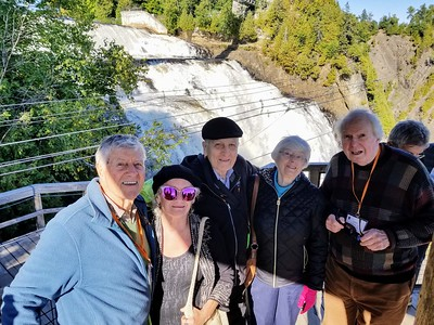 Smiles at Montmorency Falls - Cathy Phillips