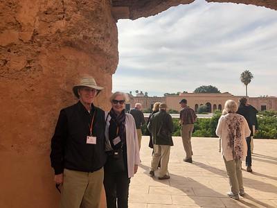 Bob and Kristen at the Badi Palace